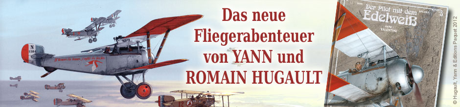 Pilot mit dem Edelwei 1: Valentine