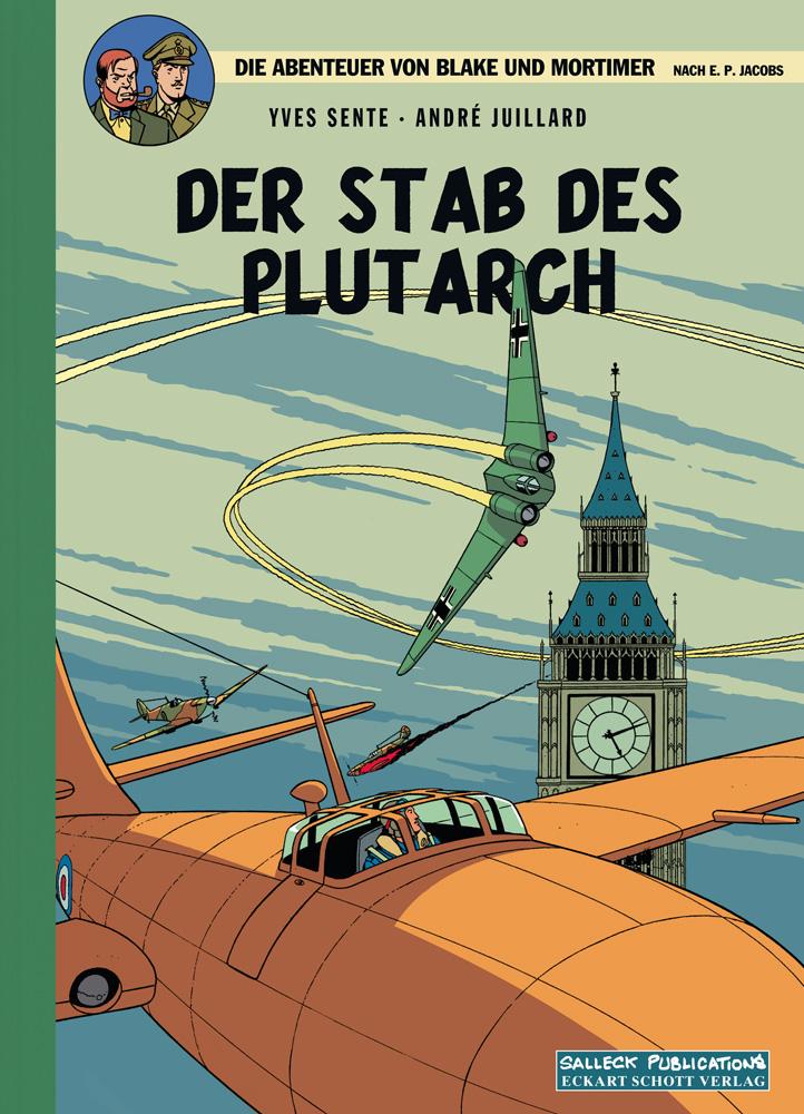 Abenteuer von Blake und Mortimer 20: Der Stab des Plutarch