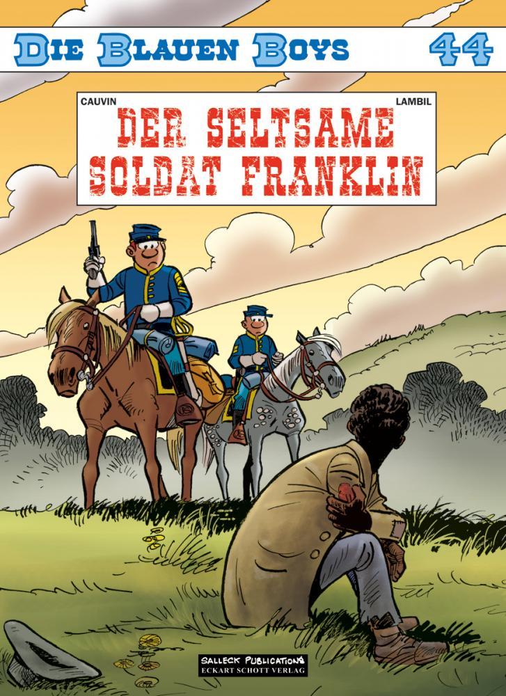 Blauen Boys 44: Der seltsame Soldat Franklin