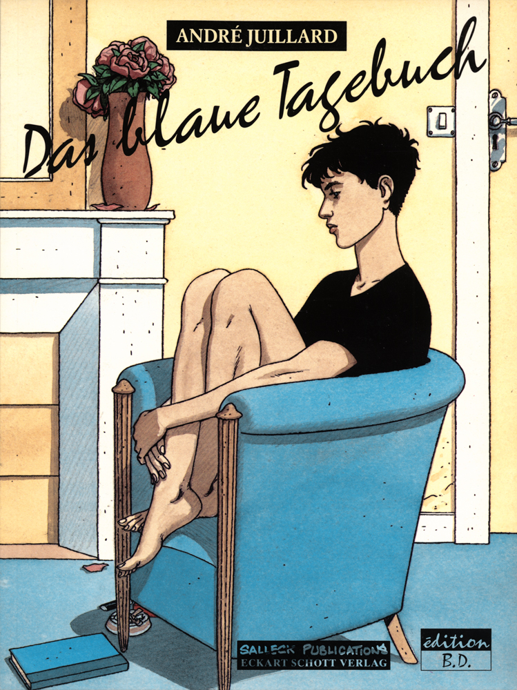blaue Tagebuch