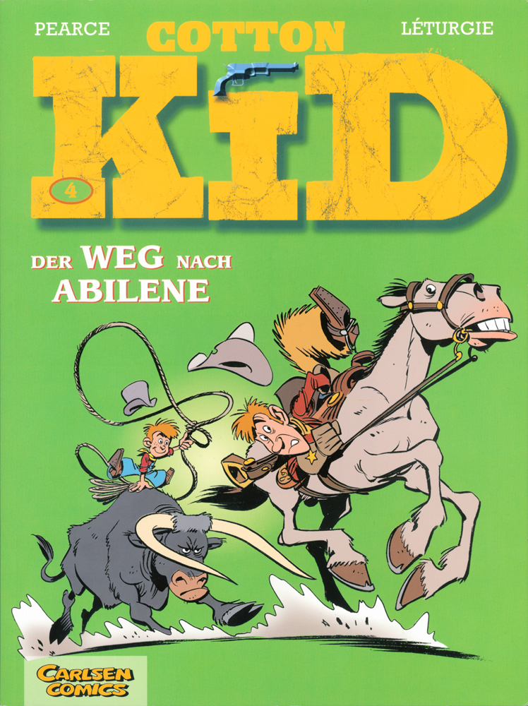 Cotton Kid 4: Der Weg nach Abilene