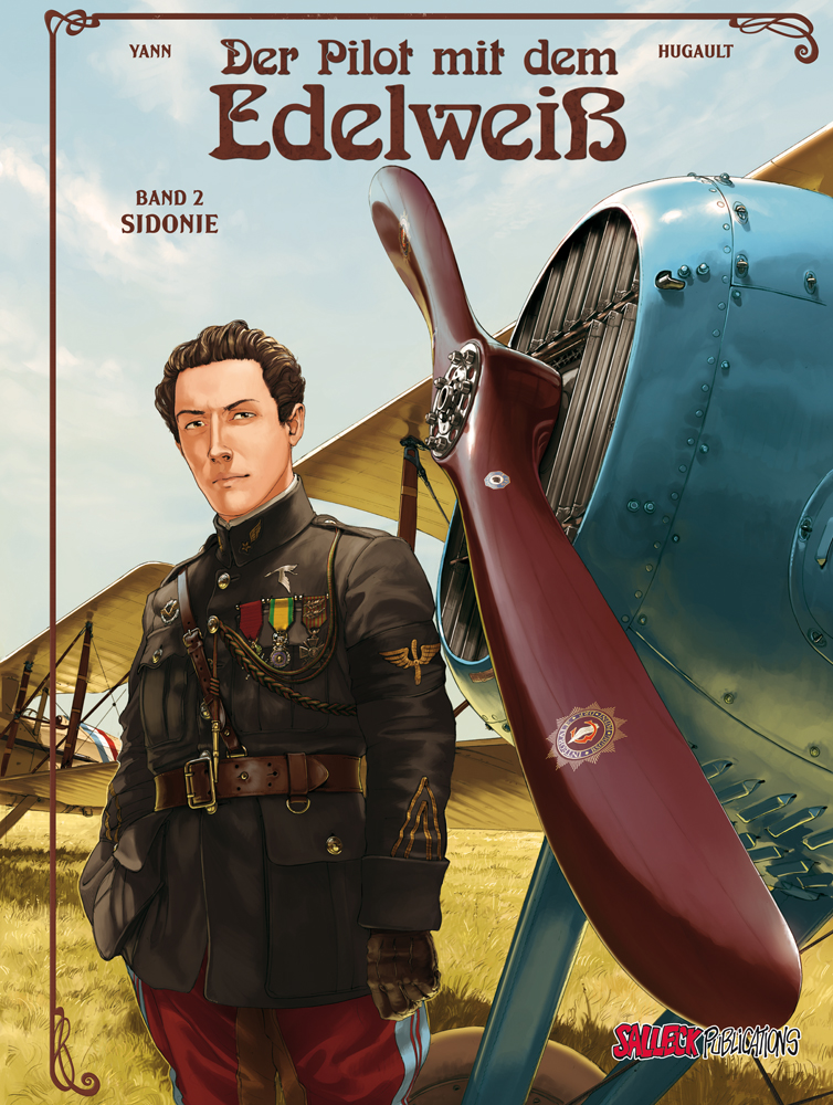 Pilot mit dem Edelweiß 2: Sidonie