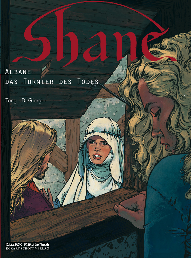 Shane 4: Albane / 5: Das Turnier des Todes (Doppelband)