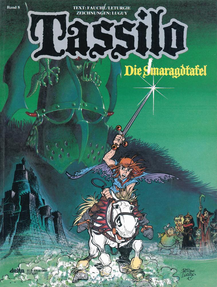 Tassilo  8: Die Smaragdtafel
