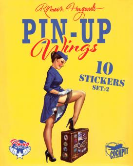 Pin-Up Wings Sticker Set 2
